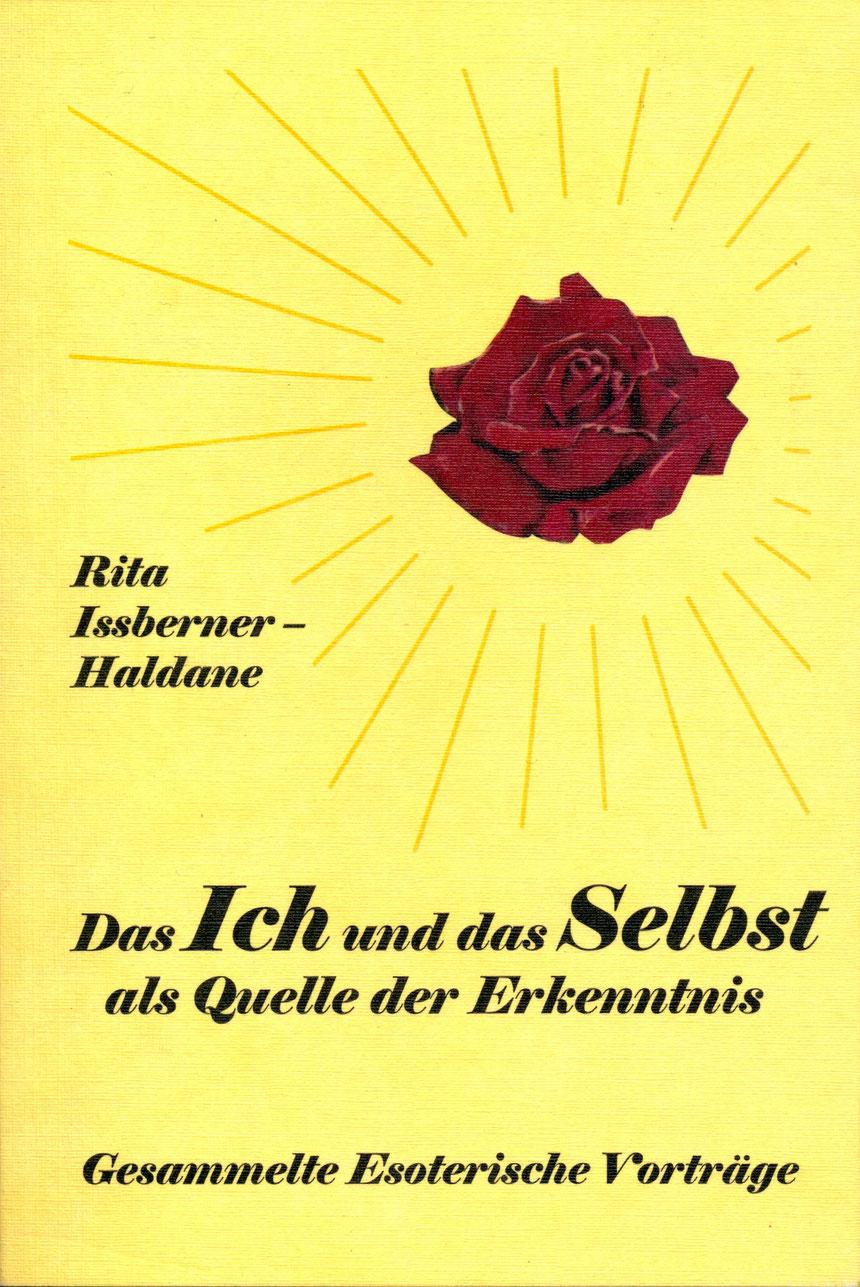"""Rita Issberner-Haldane, Hotel Grunewald, """"Das Ich und das Selbst als Quelle der Erkenntnis"""", 1961, mit Widmung, Schenkung"""