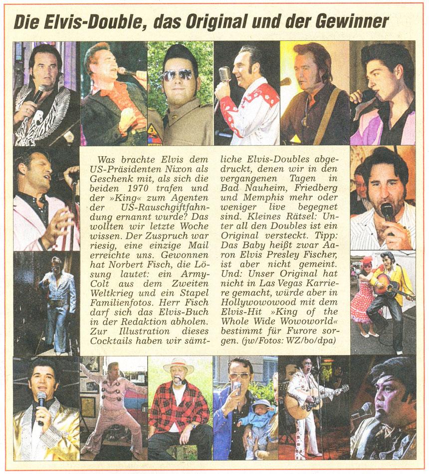 Elvis-Joke von Jürgen Wagner, WZ 25.08.2012