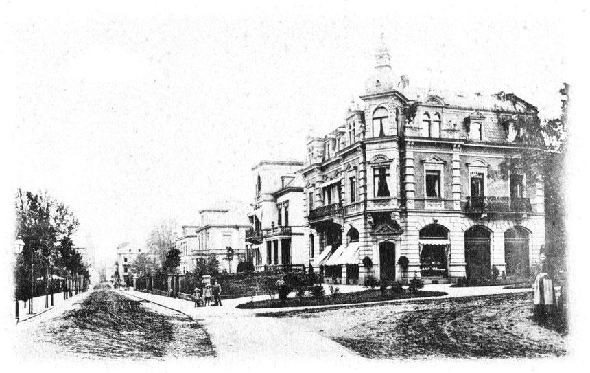 Foto, etwa 1888 Sammlung ONLINE-MUSEUM BAD NAUHEIM, stellvertretend Beatrix van Ooyen
