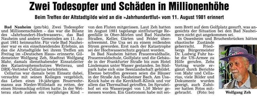 Referent Wolfgang Zeh, WZ 05.08.2013, Foto: Eberhard Bogdoll