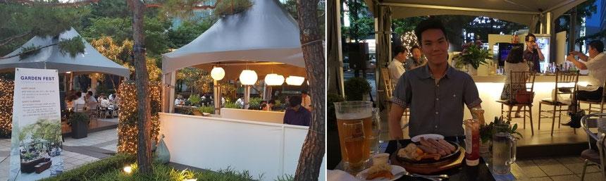 7/31(금) 히로바 금요파티는 플라자호텔 비어가든에서 합니다. 18:00~20:30 생맥주 무한제공입니다.
