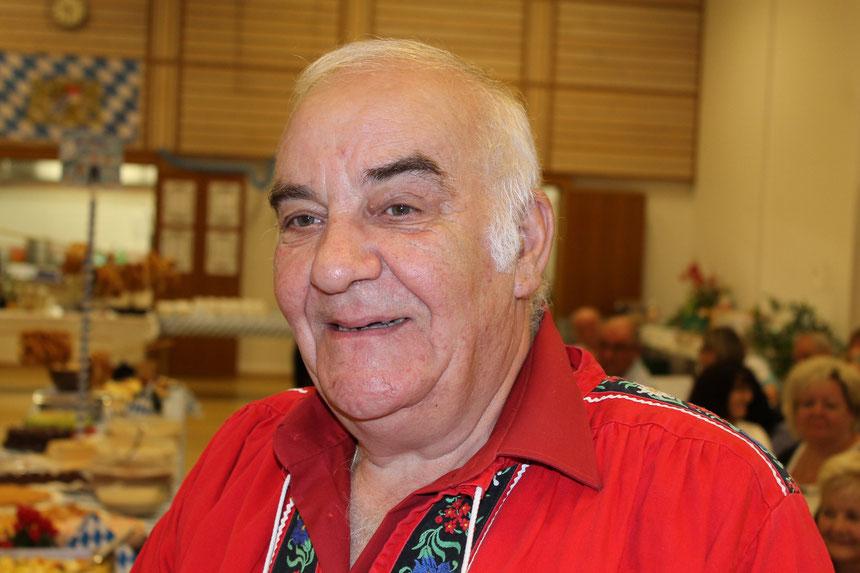Unser Ehrenpräsident und Gründungsmitglied Hansruedi Gsell