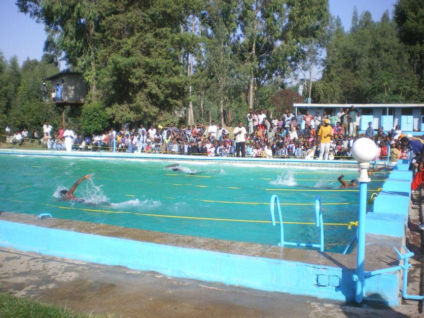Competition à Kombolcha avril 2009