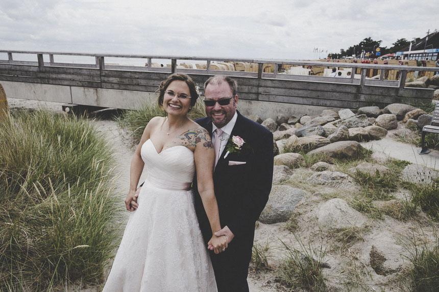 Brautpaar Bild in Kellinghusen am Steg
