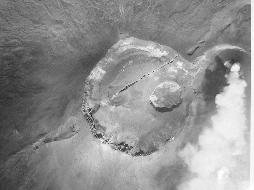 Il Cratere Centrale dell'Etna nel 1949