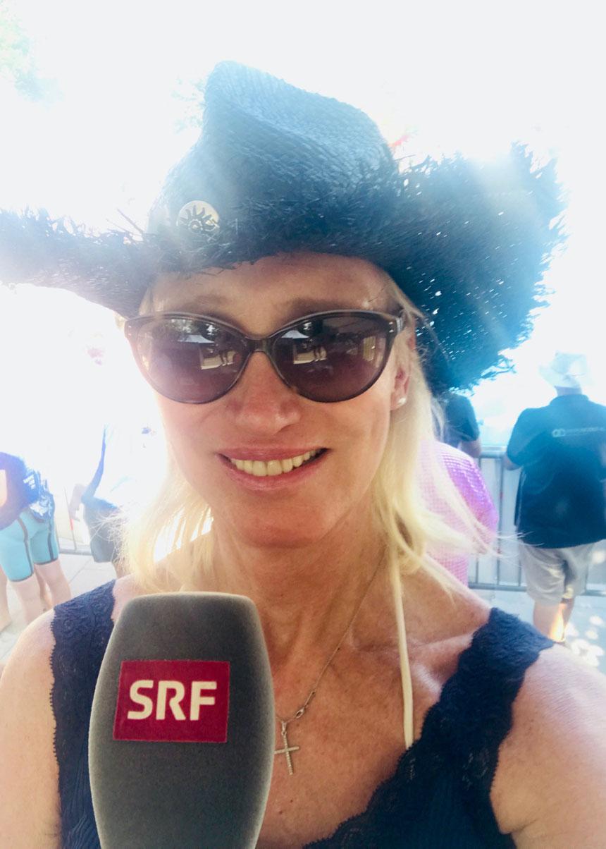 Der sportliche SEAT Leon passt gut zu meinem Engagement als Sportreporterin bei Radio SRF 1.