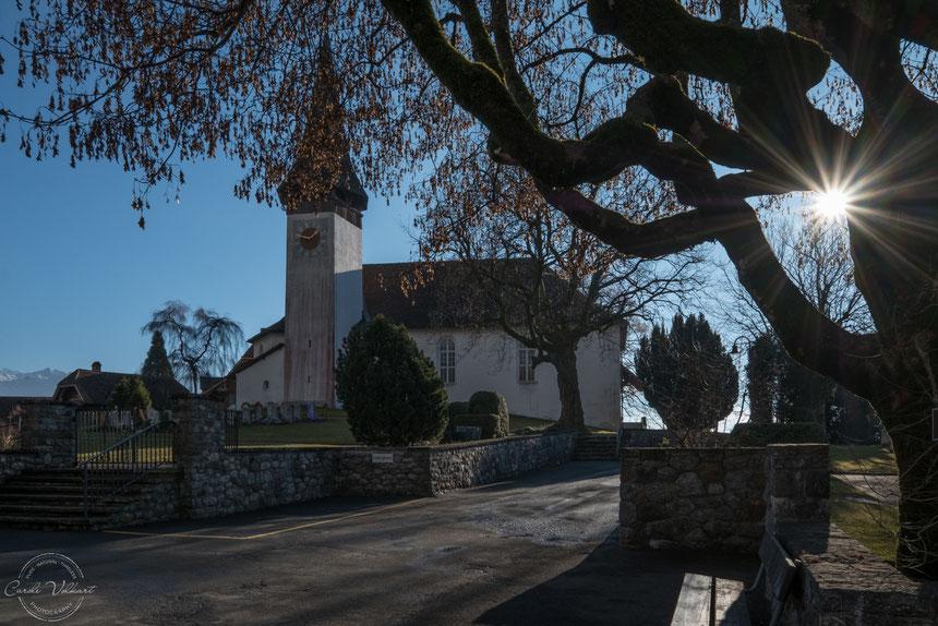 Kirche, Sigriswil, Thunersee, Thun