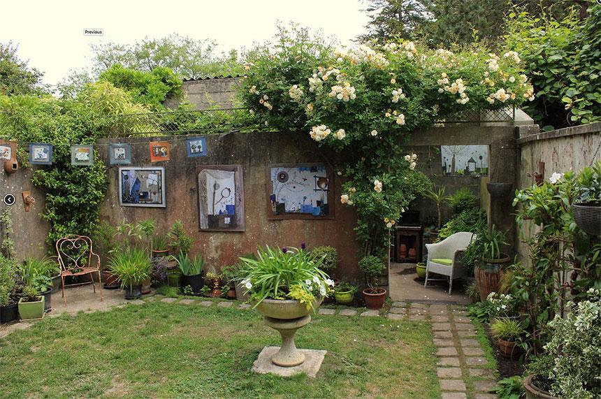 Le jardin de l'APP de Cécile Bouvarel - Saint-Sauveur-le-Vicomte