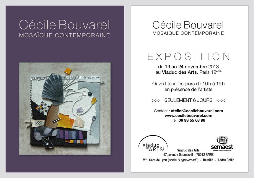 Carton d'invitation Viaduc