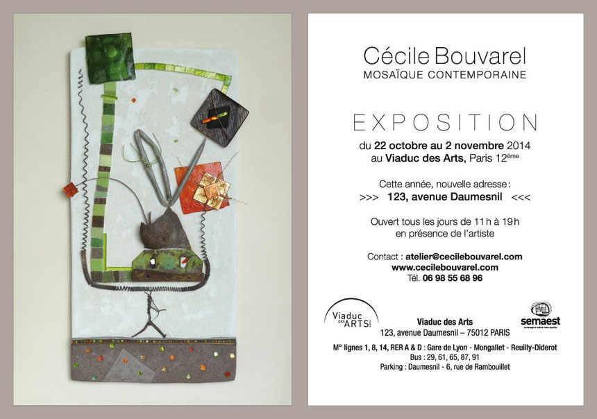 Invitation Expo Viaduc 2014
