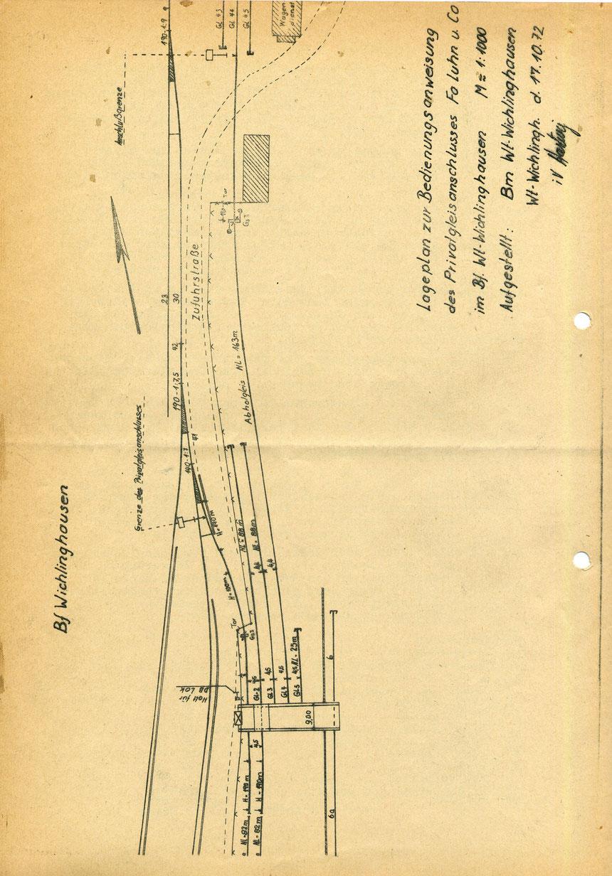 Bedienungsanweisung vom 01. März 1973, Seite 8