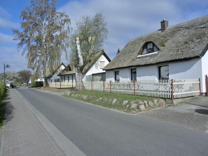 Usedom Zempin Dorfstraße