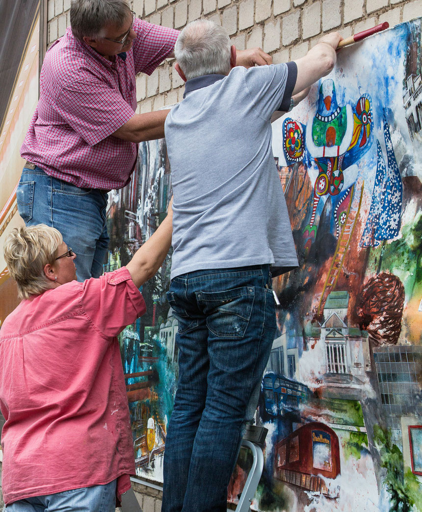 Dorothee Impelmann, Kunst, Stadtmarken, Stadt Duisburg, tOG, take OFF GALLERY, Düsseldorf