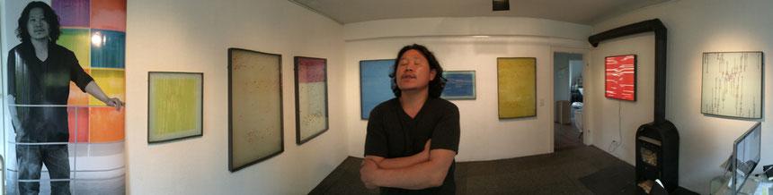 Vernissage, Ausstellung, Moderne Kunst, tOG, takeOFFGALLERY, Düsseldorf, Daekwan Kim, DAS LICHT AUF DEM WASSER,
