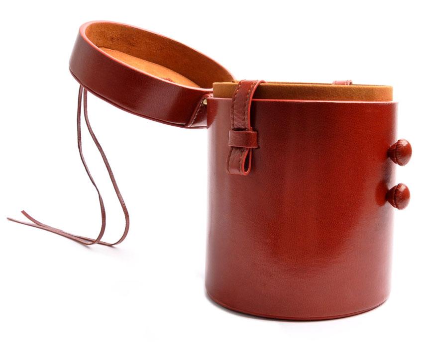Ledertasche Vintagestyle Leder cognac OSTWALD Tradition