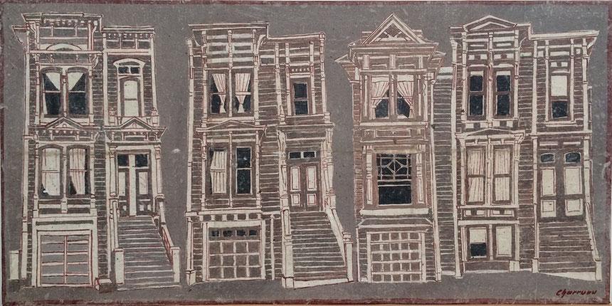San Francisco - Painted Ladies IV