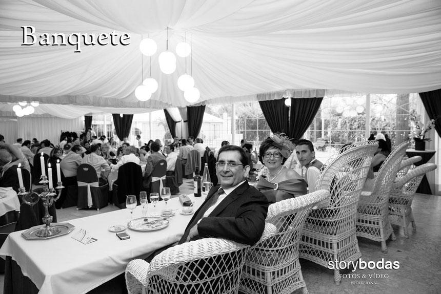 storybodas fotos banquete