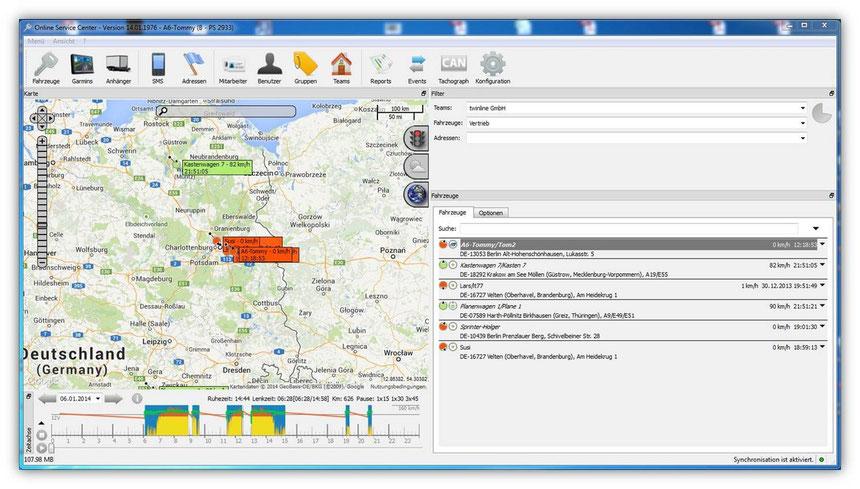 OSCPC GPS-Ortungsportal