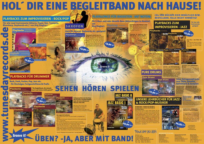 Tunesday Poster - Zum Vergrößern bitte anklicken!