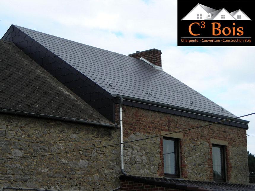 reconnaitre ardoise amiante best renovation toiture fibrociment amiante with toiture ardoise. Black Bedroom Furniture Sets. Home Design Ideas