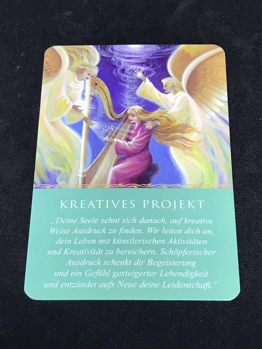 Das Engel-Orakel für jeden Tag von Doreen Virtue auf Phönixzauber kostenlose Tagesbotschaft