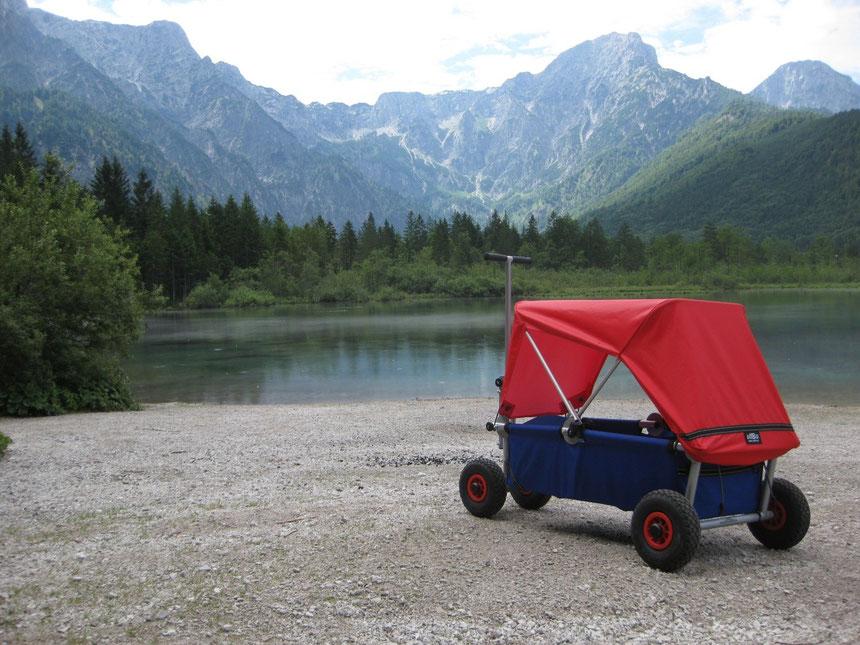 immer unterwegs mit dem Expedtionswagen ulfBo