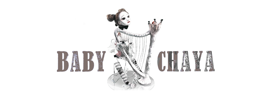baby chaya logo bjd doll with harp