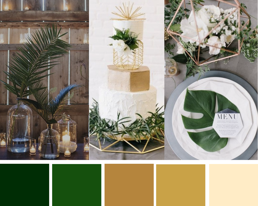 Emma Hedley Wedding Colour Palette Inspiration