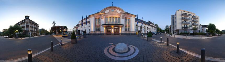 Bahnhof in Bad Nauheim,  Foto mit freundlicher Genehmigung von Andreas Chuc: www.chuc.de