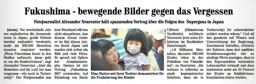 Nordheide Wochenblatt, 24. November 2013