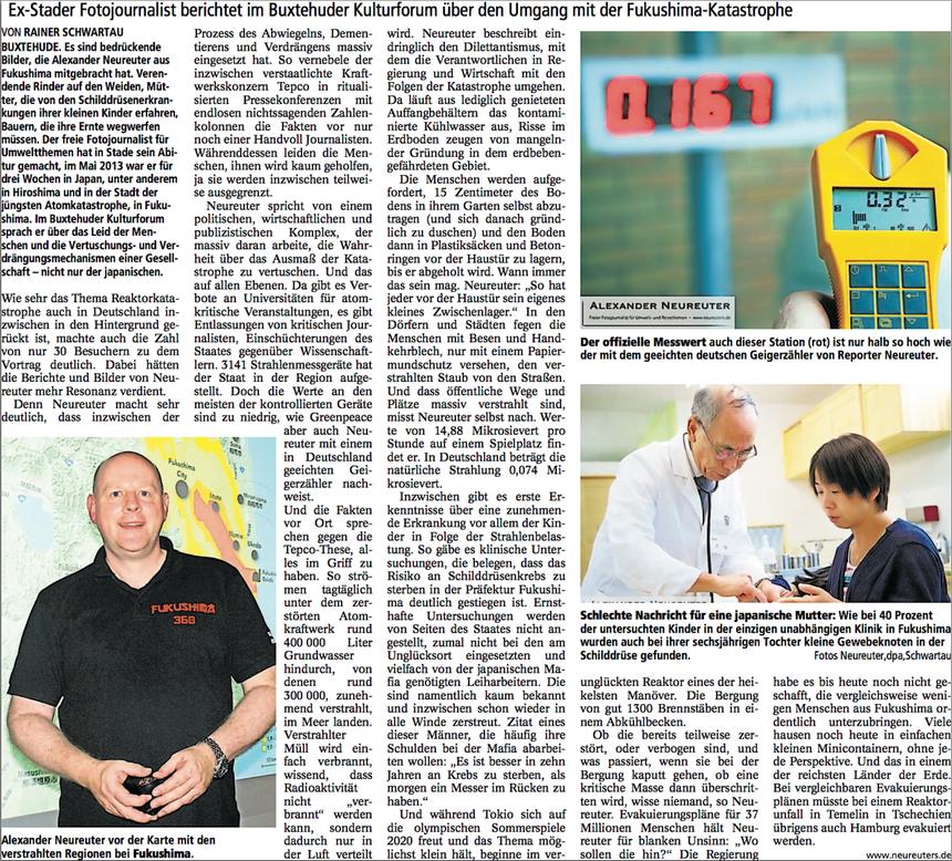 Buxtehuder Tageblatt, 19. September 2013