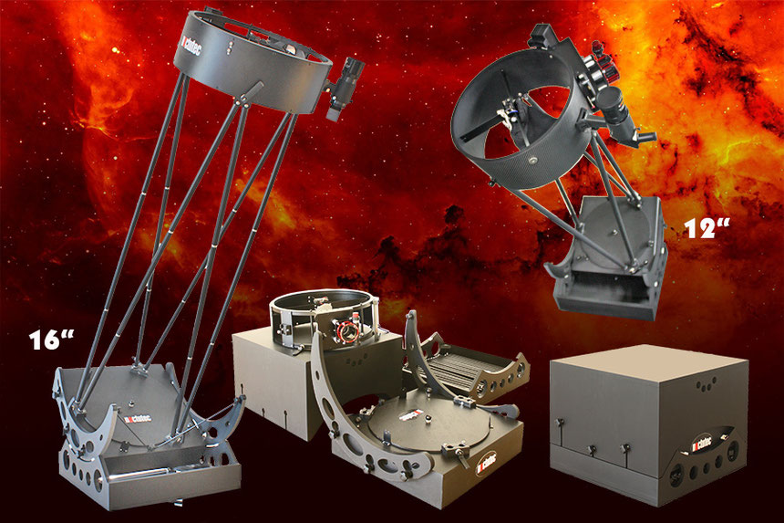Teleskop Teleskope Dobson Gitterdobson noctutec