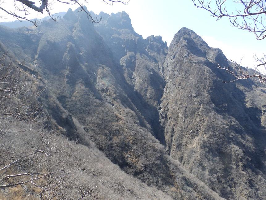 松ヶ尾谷の上部