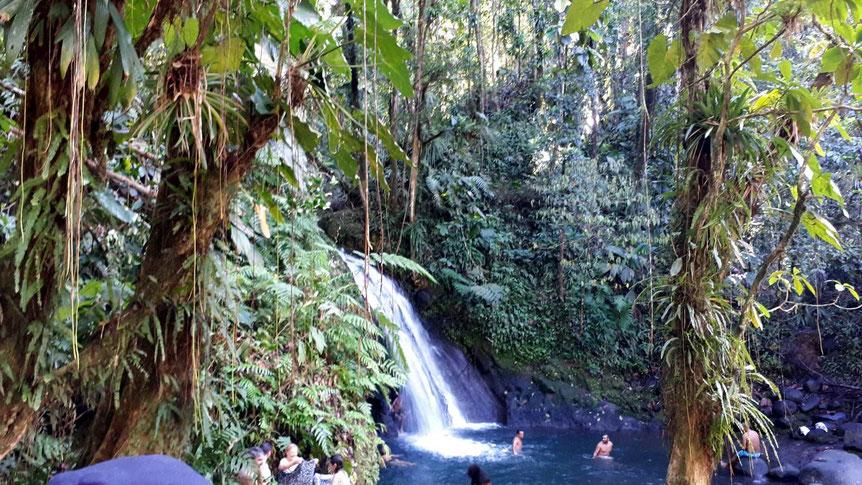 Wasserfall - Cascade aux Ecrevisses