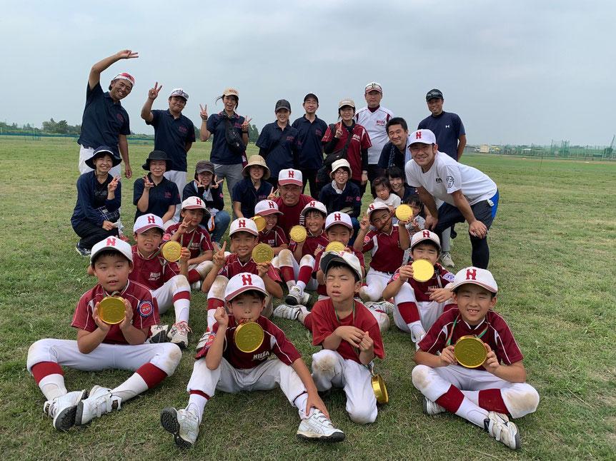 2020年8月8日_ジュニア サイネットジャパン杯優勝(選手と保護者)