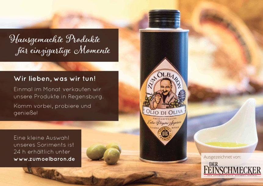 Haugemachte Produkte aus der Toskana, Olivenöl in Regensburg