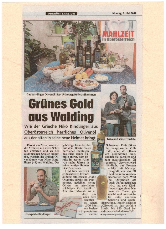 Pressebericht Kronen Zeitung