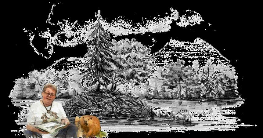 Kinderbuchautor Jürgen H. Riedel: Im Land der wilden Biber