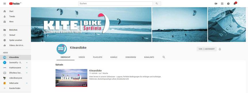 kiteandbike youtubekanal