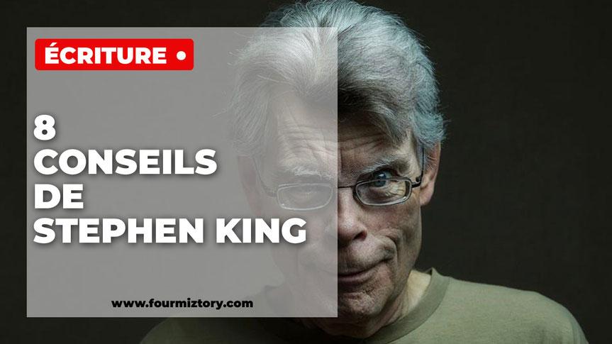 Stephen king, livres, écriture, conseils