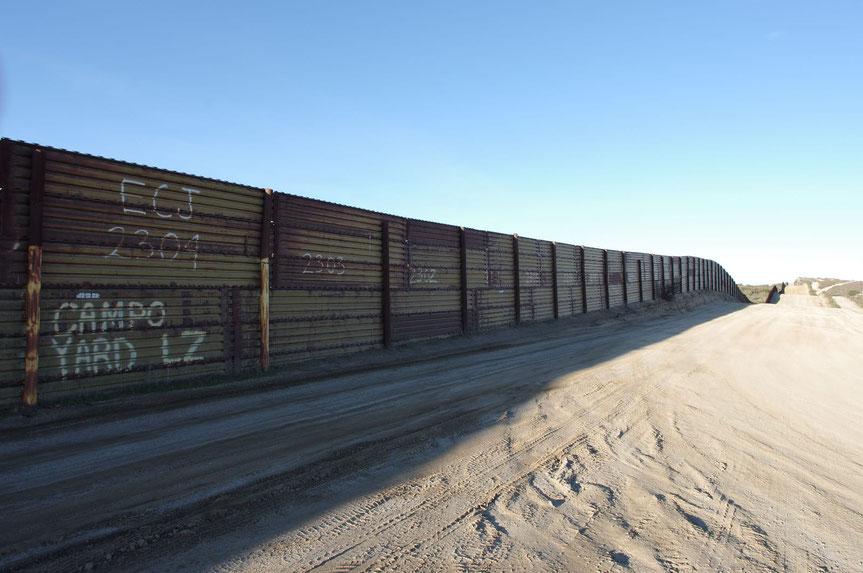 Mexican Border / Grenze zu Mexico