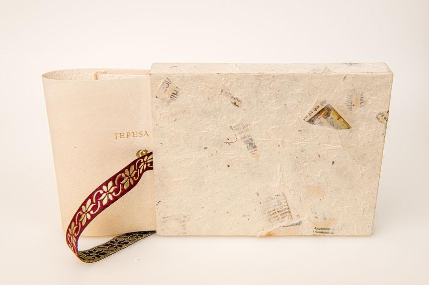 Vorzugsausgabe in Pergament mit Schutzschuber