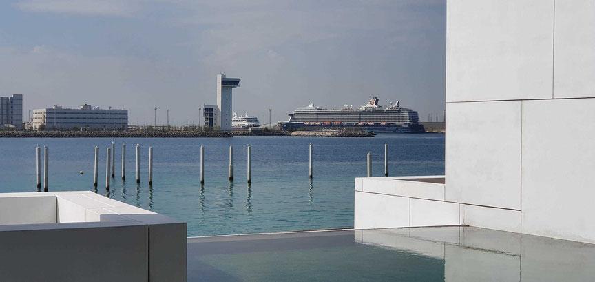 Bild vom Louvre Abu Dhabi zum Kreuzfahrthafen