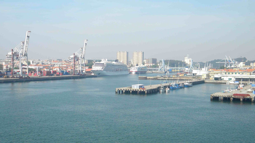Blick zum North Cruise Terminal