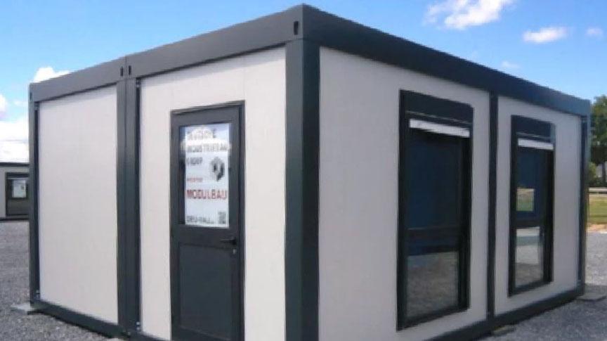 In einem solchen Container soll nach Informationen der Stadtverwaltung das Testzentrum untergebracht werden