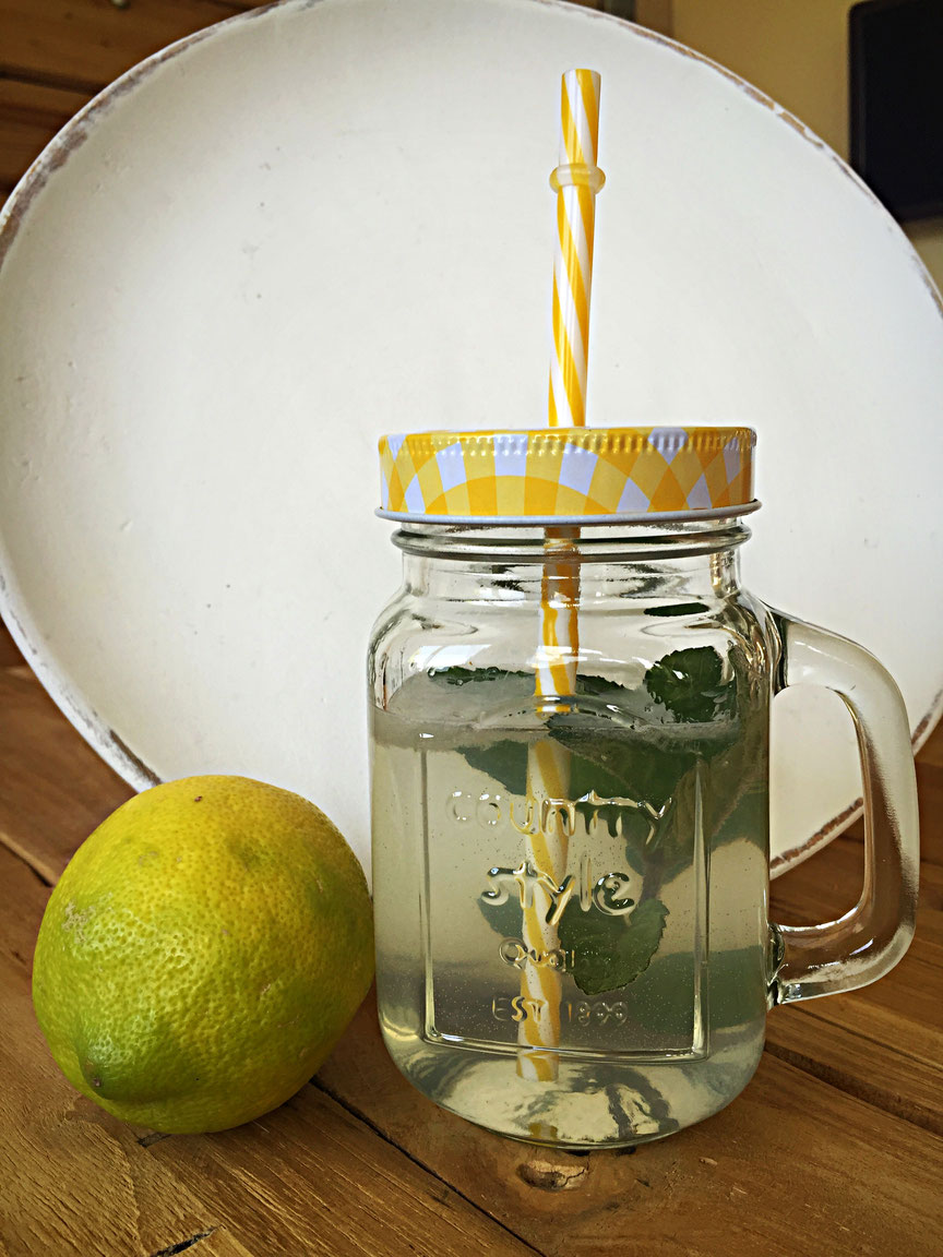 Infused Water Zitrone