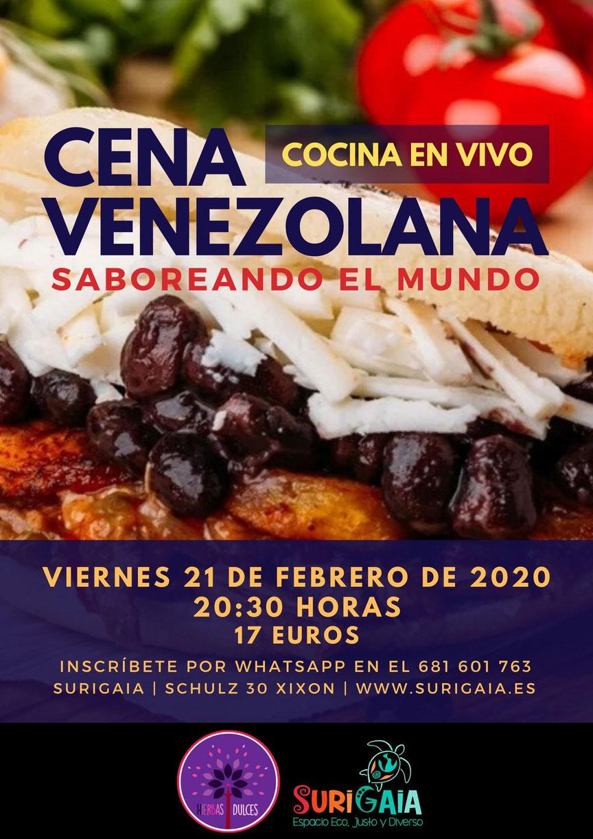 Saboreando el mundo: Cena venezolana