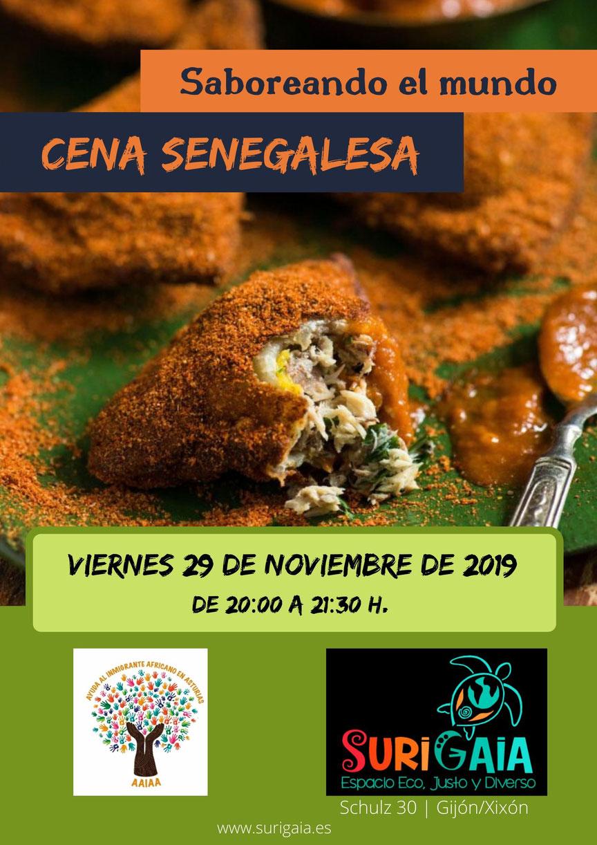 Saboreando el mundo: Cena senegalesa