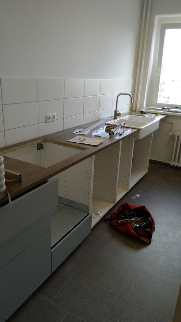 Küchenaufbau in Berlin