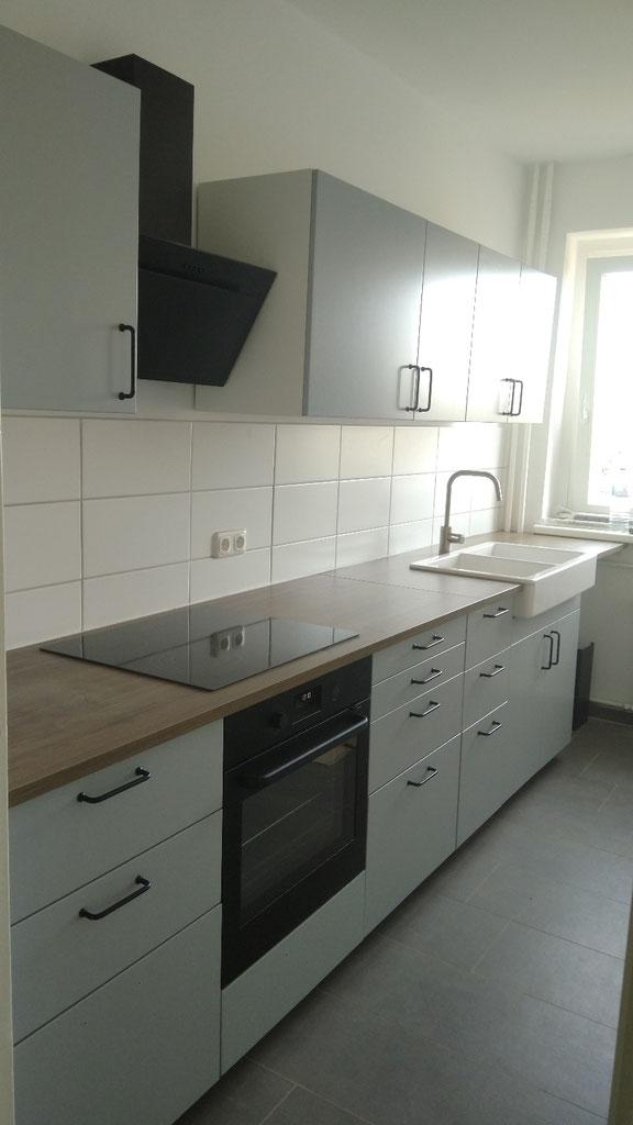 Fertig montierte Küche in Berlin